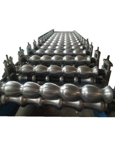 factory colored steel tile roll forming machine 2