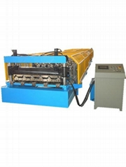 wuxi factory roof sheet roll forming machine