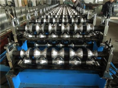 factory double layer roof roll forming machine 2