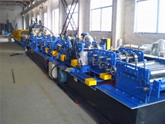 factory adjustable C purlin roll forming machine