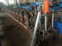 roller shutter guide channel roll forming machine