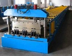 factory floor deck panel roll forming