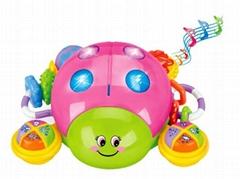 Children Puzzle Multifunction Ladybug Infant Educational Toys