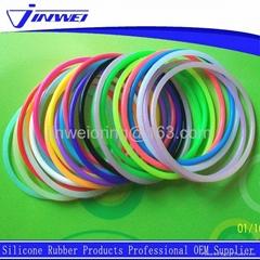 FDA colorful small silicone rubber o ring