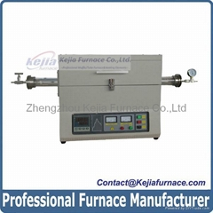 1200c  Horizontal Vacuum Electrical Resistance Tube Furnace