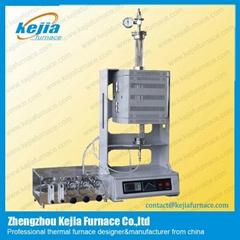 1100C Vertical Vacuum Tube Furnace with Vacuum Flange