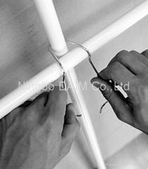 Ga  anized steel cross joint