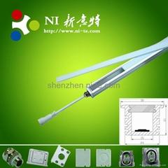 IP67 rigid bar Waterproof Led aluminum Profile