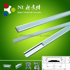 IP20 rigid bar Waterproof Led aluminum Profile