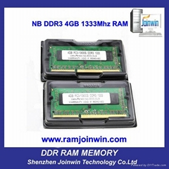DDR3 4GB RAM MEMORY FOR LAPTOP