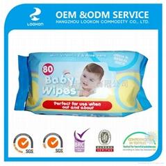 Popular 100% biodegradable OEM 80pcs
