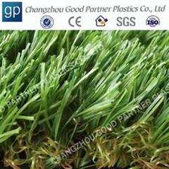 Anti-UV artificial grass for microfiber shaggy rug