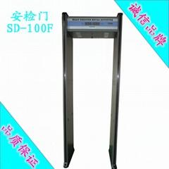 鑫安浩防水型數碼顯示金屬探測門