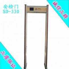 鑫安浩33區位高靈敏度金屬探測門