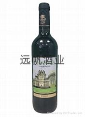 西班牙宝石城堡丹魄半甜红葡萄酒