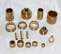 OEM High Precision Copper-based Oil Bushing Powder metallurgy Parts