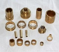 OEM High Precision Copper-based Oil Bushing Powder metallurgy Parts