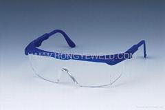 hongye transparent lens safety goggle HYY-605