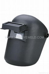 Hongye red welding helme