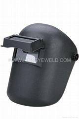 Hongye red welding helmet HYM-407