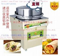 Flame Type Gas Pancake Baking Machine (0101)