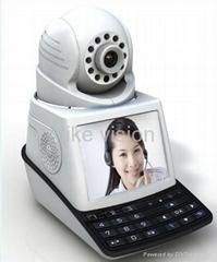 ip camera WIFI H.264 USB TF Card slot IP Video phone Camera