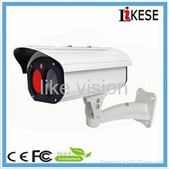camera cctv New Design 1 power array led with IR 40M Cable Through Bracket bulle