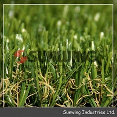 beautiful natural artificial decorative landscape Landscaping grass