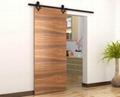wall mounted sliding door hardware