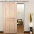 sliding door hardware for wood door