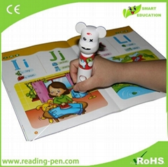 preschool educational reading pen for kids touch reading pen