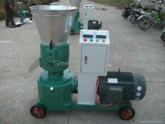 Wood Pellet Making Machine Make Pellets for Fish Food