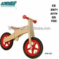 ANB-004 Wooden bike for children Wooden scooter (Accept OEM service) 1