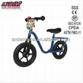 AKB-1206 Baby training bike with number