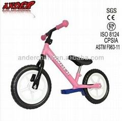 high level steel child first bike Kinder bike for children Balance bike