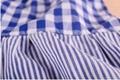 女童裙藍色系純棉拼接連衣裙  5