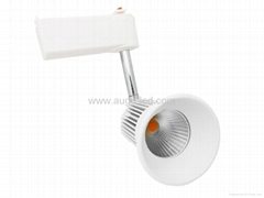 7W 9W sharp cob high lumen track light with CE RoHS approved 3 year warranty