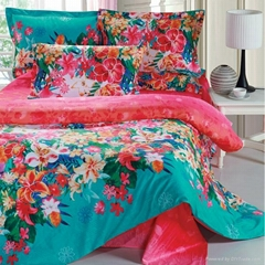 100% cotton comforter coverlet