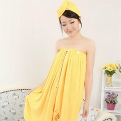 Microfiber Towel Bath Skirt