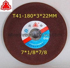 180x3x22 Abrasive Wheel for Cutting Metal
