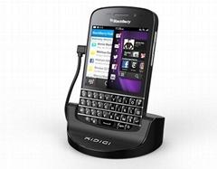kidigi mobile phone cellular Blackberry Q10 USB 2nd Battery Dock