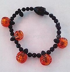 2014 Halloween party decorations flashing led bracelet