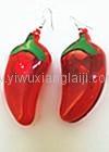 Popular Mardy gras flashing led earrings
