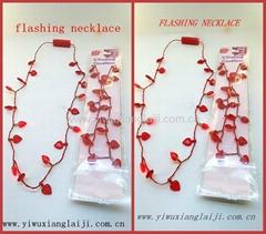 2014 fashion heart shape flashing led