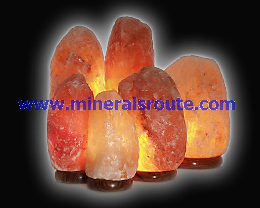 Himalayan Natural Rock Salt Lamps 1