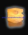 Himalayan salt wax candle holders 4