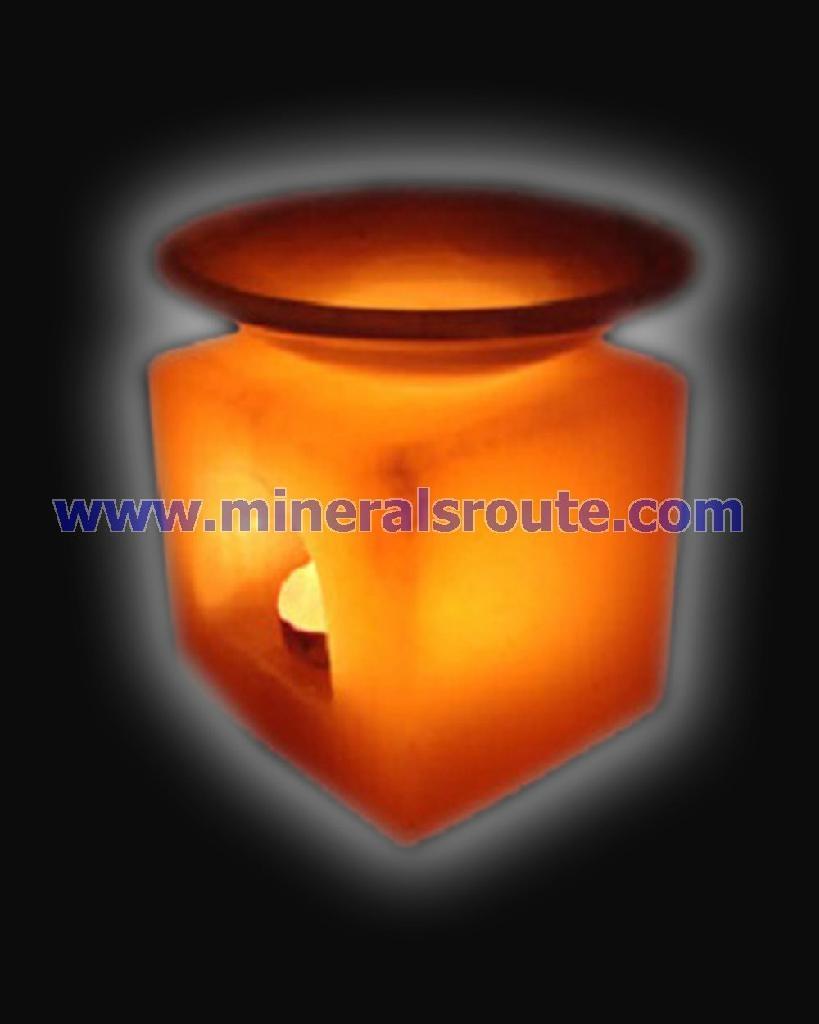 Aroma Salt Candle Lamps 1