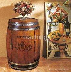 Vibration-free 18 bottles individual wine bottles cooler cabinet 48L barrel wine