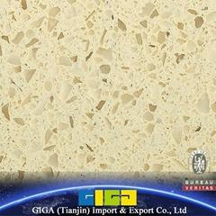 GIGA Chinese high quality 18mm artificial quartz stone