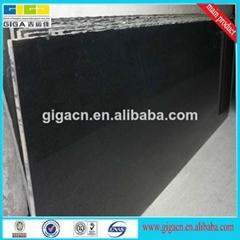 18mm polished black natural stone granite tile
